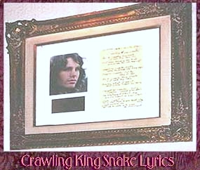 HRC Paris - Jim Morrison Crawling King Snake lyrics.jpg