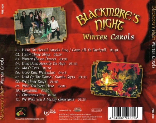 Blackmore's Night - Winter Carols Back.jpg